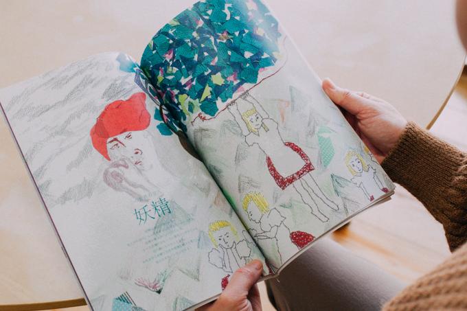 エフ・ディ デザイン塾 卒業生制作の冊子