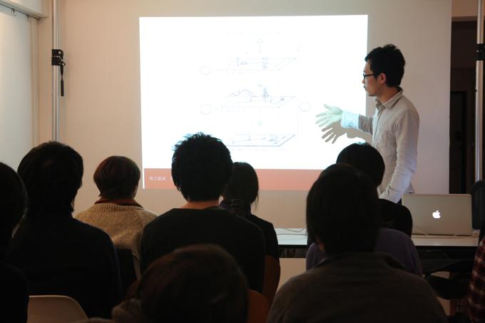 エフ・ディ デザイン塾セミナーの様子