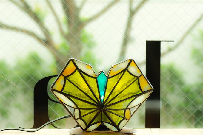 ステンドグラスワークショップ「久保淳子」さんの作品