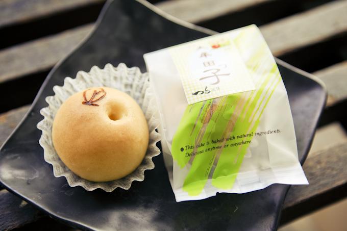 大牟田レトログラフィ_お土産「つる製菓のオリジナル饅頭」