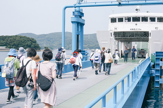 クリエイティブツアー「池島レトログラフィ」