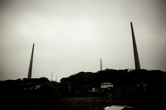クリエイティブツアー「佐世保レトログラフィ」針尾送信所の無線塔