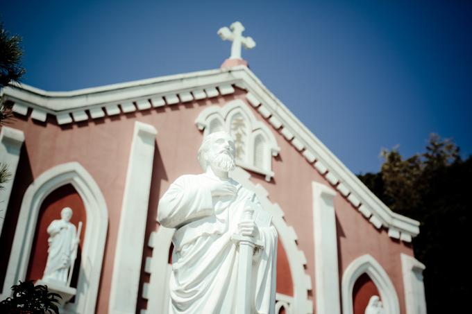 平戸レトログラフィ「カトリック宝亀教会」