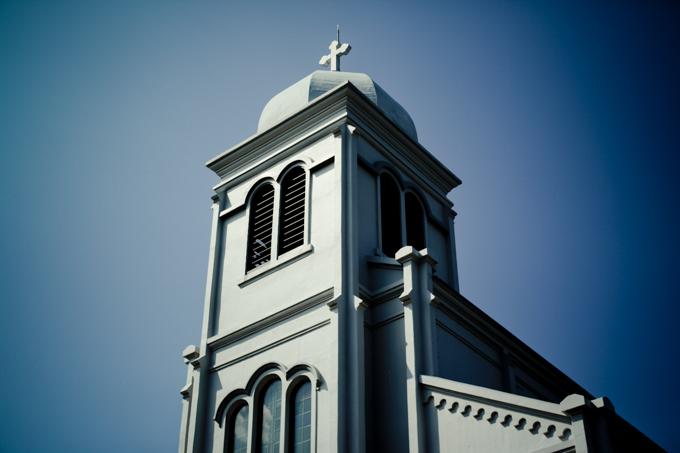 平戸レトログラフィ「紐差教会」