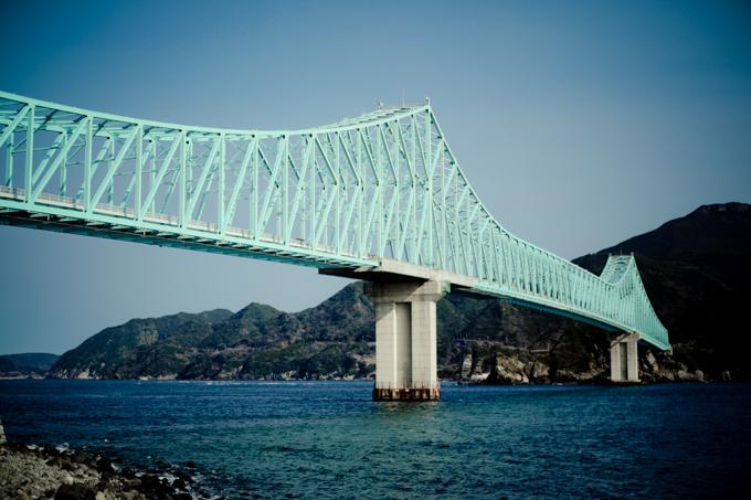 平戸レトログラフィ「生月大橋」