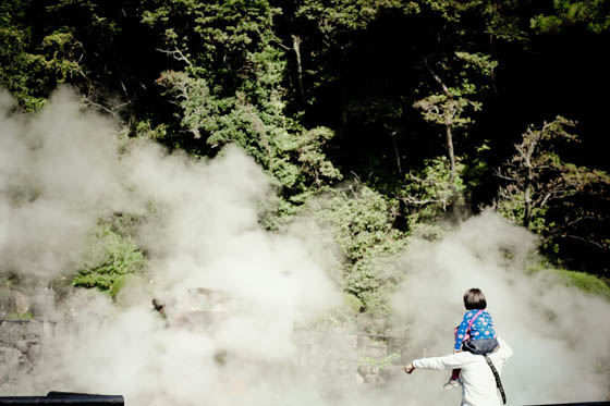 クリエイティブツアー「別府レトログラフィ」鉄輪温泉 海地獄