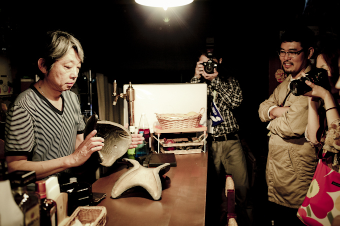 唐津クリエイティブツアー「篠原三松堂さんの金華糖の鯛菓子」