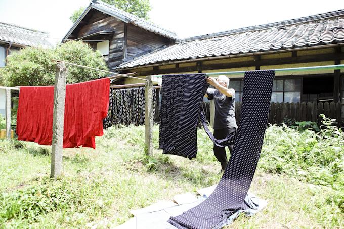 久留米絣工房=津留織物